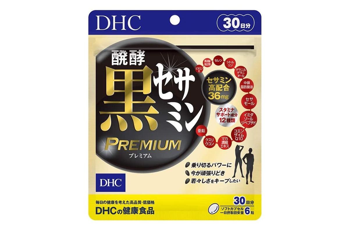 DHC 發酵黑芝麻素 PREMIUM