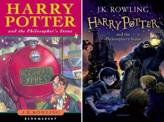 芬兰的哈利鼻子怎么那么大?《哈利波特》13 的书皮封面大不同