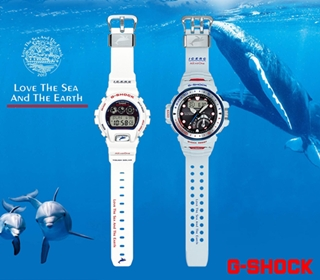 [新聞稿]「G-SHOCK x I.C.E.R.C 」Love The Sea And The Earth限量錶款 台灣6月24日正式開賣