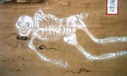 屍體腐爛9階段 日本古畫《九相圖》   生活發現