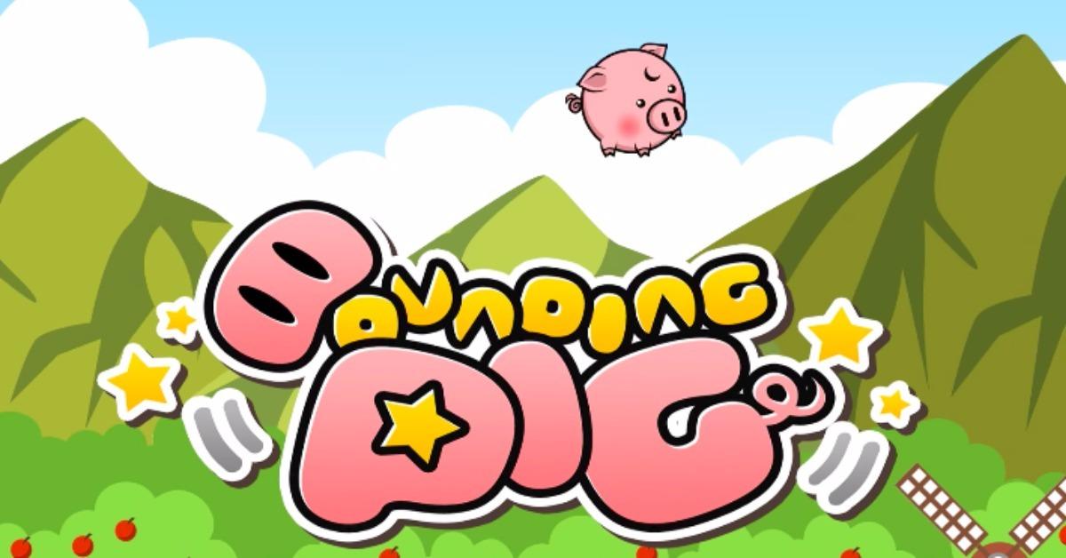 村庄和平由我守护!《Bounding Pig》正义猪对抗狡诈猪的冒险手游之旅