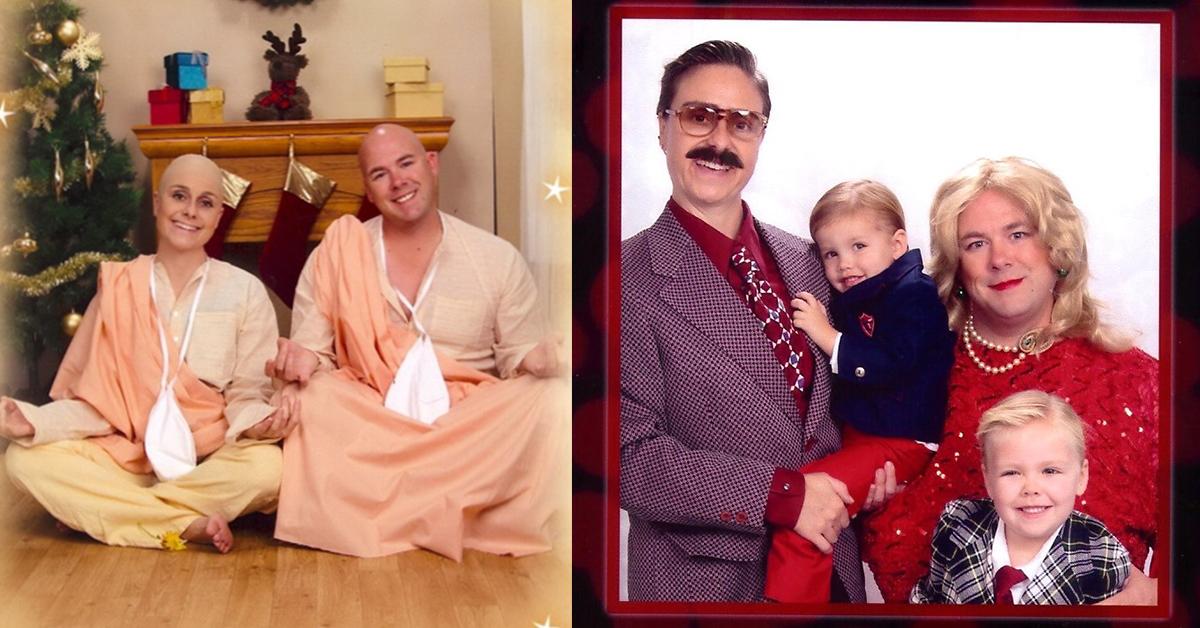 我的阿姨一家怎麼每年都長不一樣?Bergeron夫婦的「零偶包聖誕卡」收到保證捨不得扔!