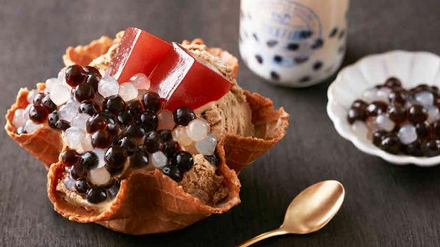 黑糖×白玉「双色珍奶冰」能不吃吗?台湾冬季鿞茎冰店新品特辑