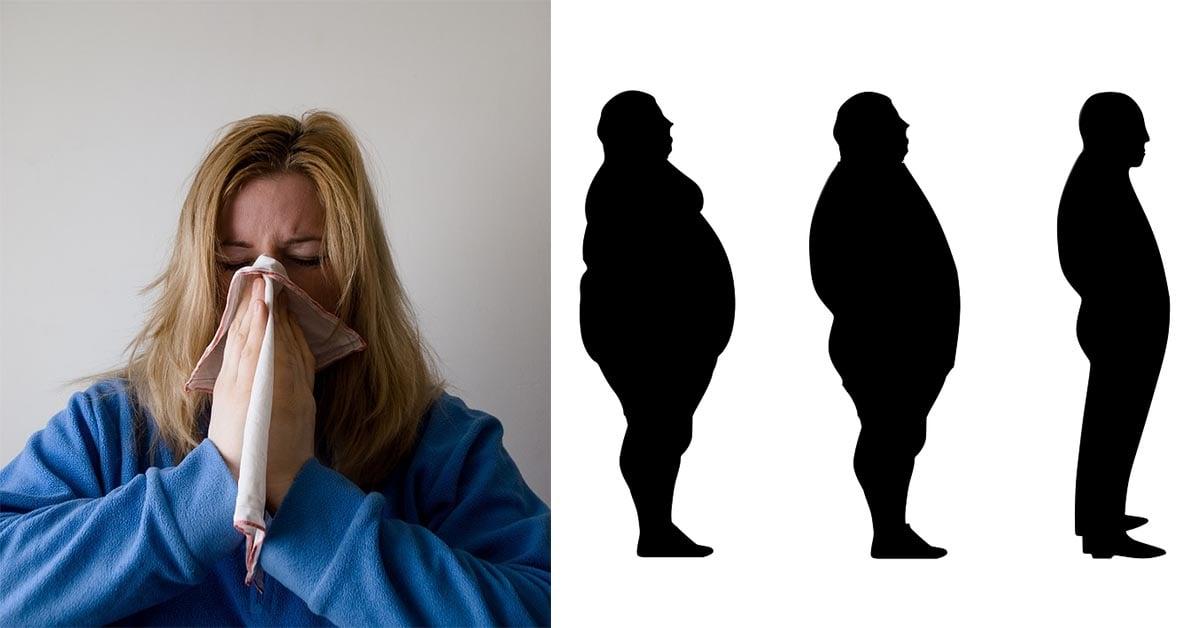 容易复胖是因为肥胖会传染?印度医生研究指出变胖是由病毒感染