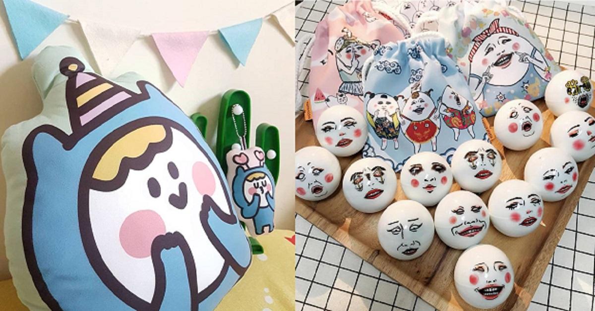 史上最大扭蛋墙只在《台湾文博会》!别错过可爱小蓝、蛋定人生独家商品