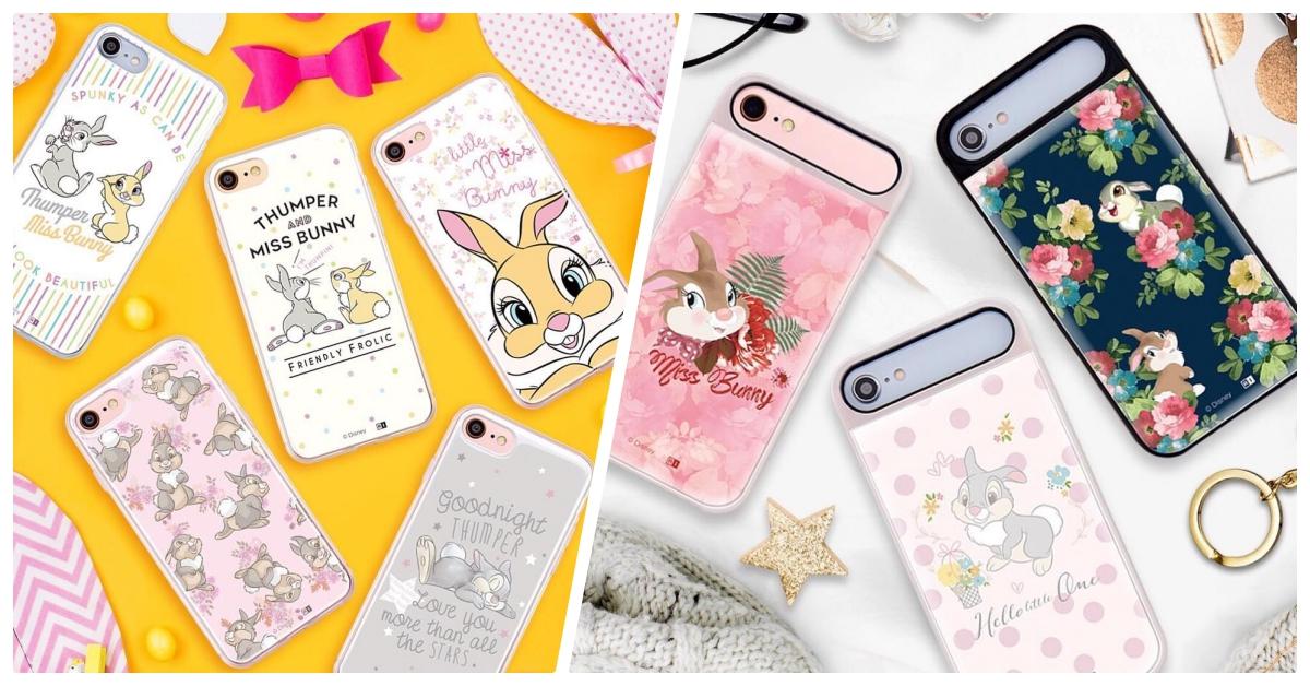 邦妮兔带着桑普兔来圈粉!《小鹿斑比》双兔出击超萌手机壳特辑♡