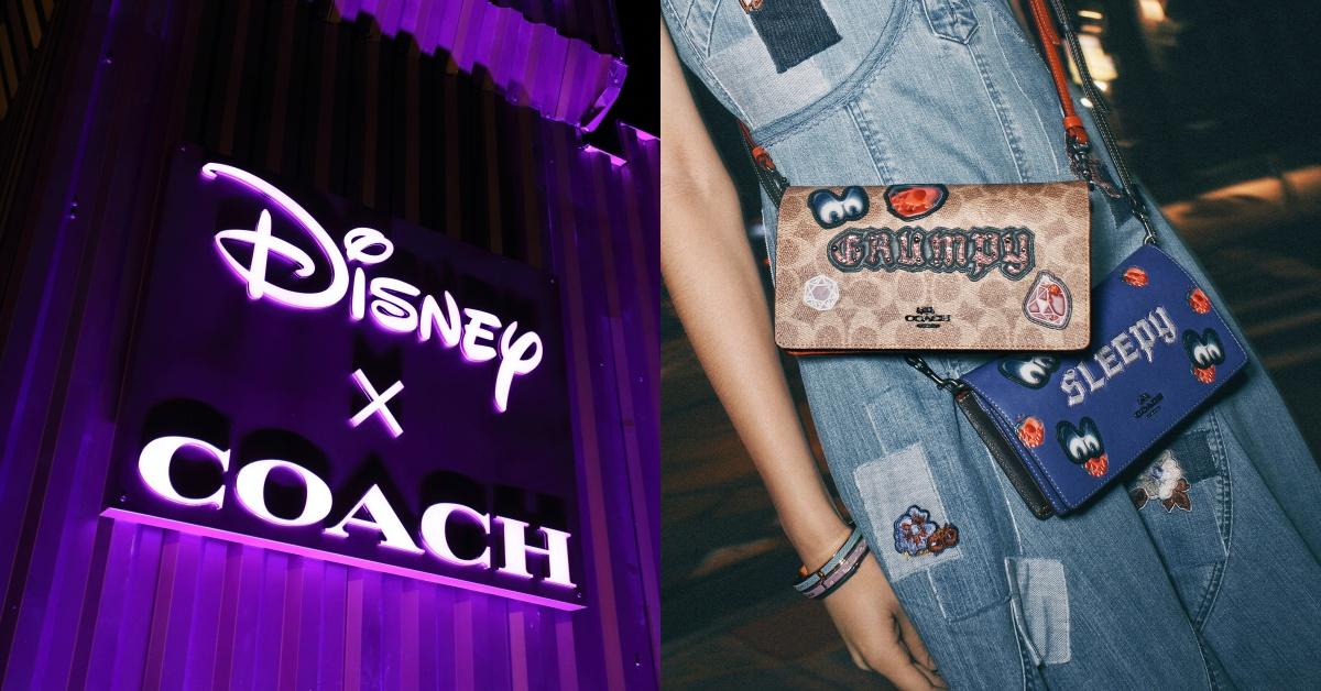阴森大眼盯着你!Disney × COACH新系列全面黑化,暗黑城堡快闪店召唤迪士尼粉!