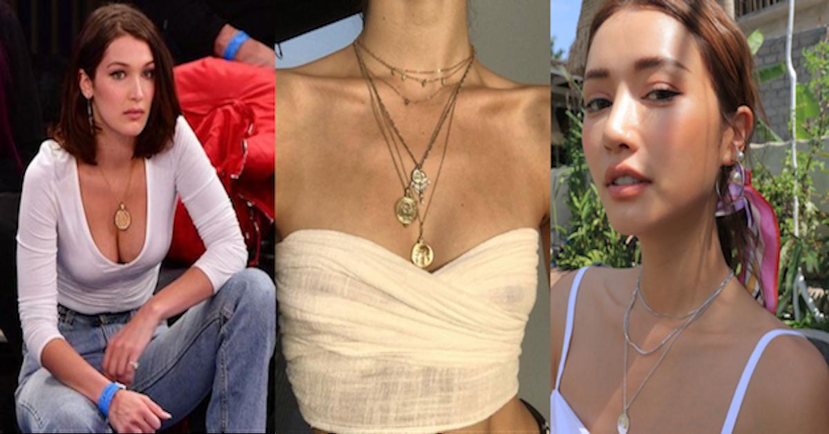 钱币不是拿来花是拿来美的!超模Bella、Kendall也在疯的「金币项鍊」!