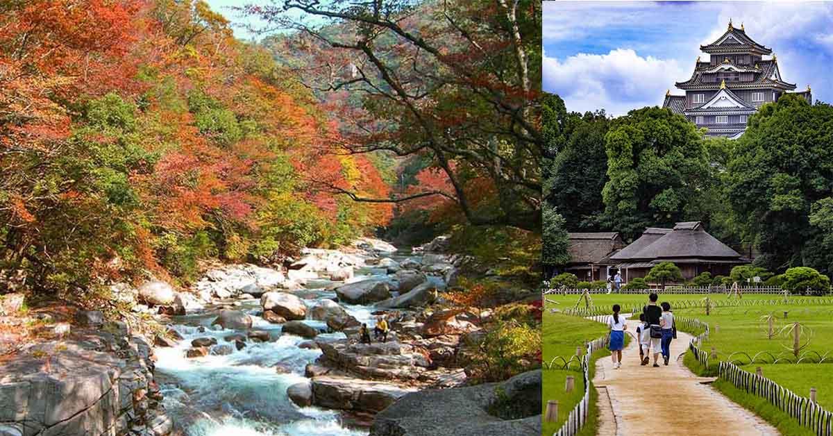 免钱的日本冈山旅游!冈山县摄影比赛免费成全你的日本女子旅