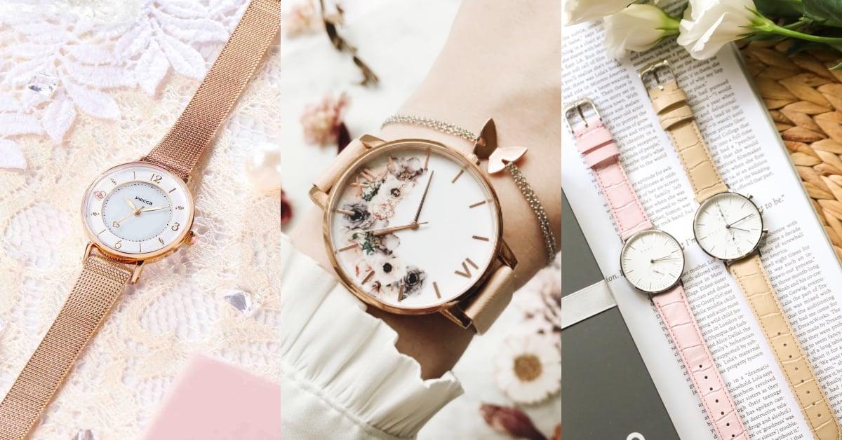 「花卉錶、客製化」各种风格都有得挑!「梦幻錶面,指针、錶带自选⋯」一看就心动的錶款都在这!| 时尚关键字