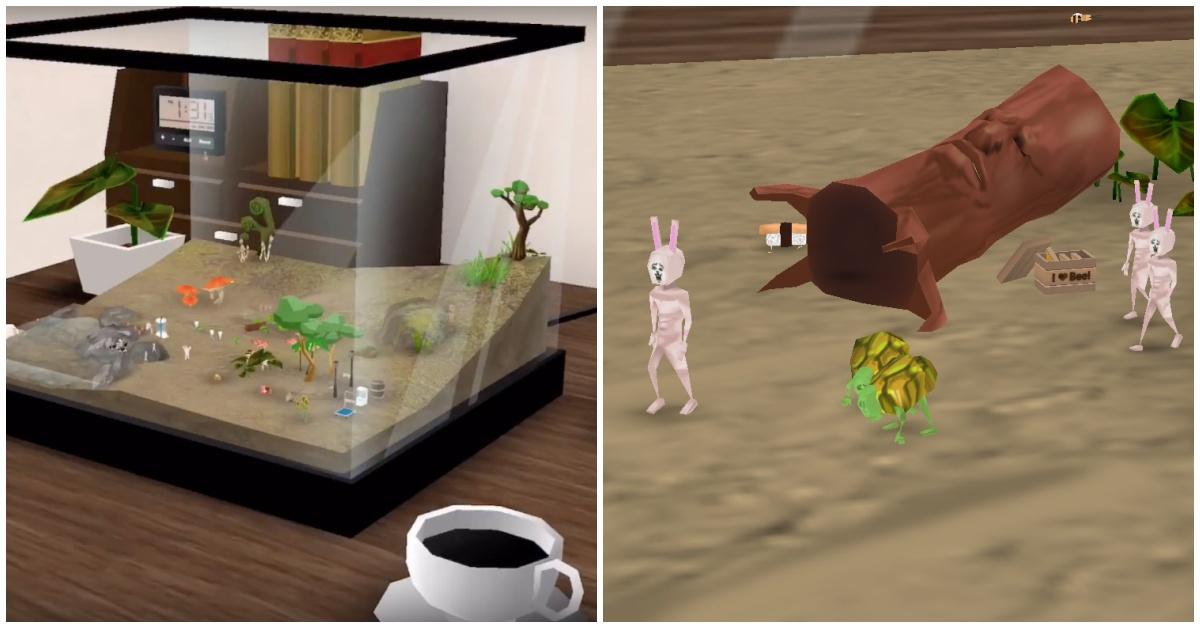 培养皿内为什么会有会走路的萝蔔?!微猎奇放置型手游《奇幻水族箱》