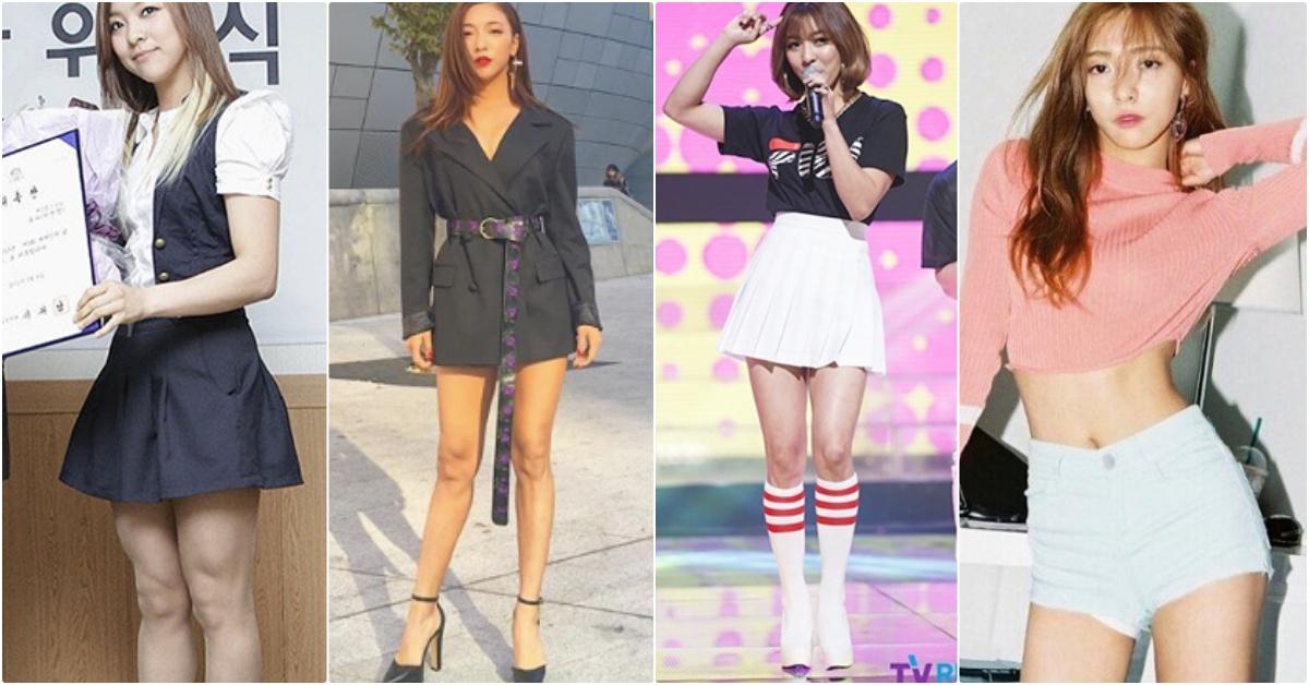 韩星LUNA示範瘦腿三大招秒减掉「钢铁萝蔔腿、健壮肌肉腿」!再也不用当金刚芭比!