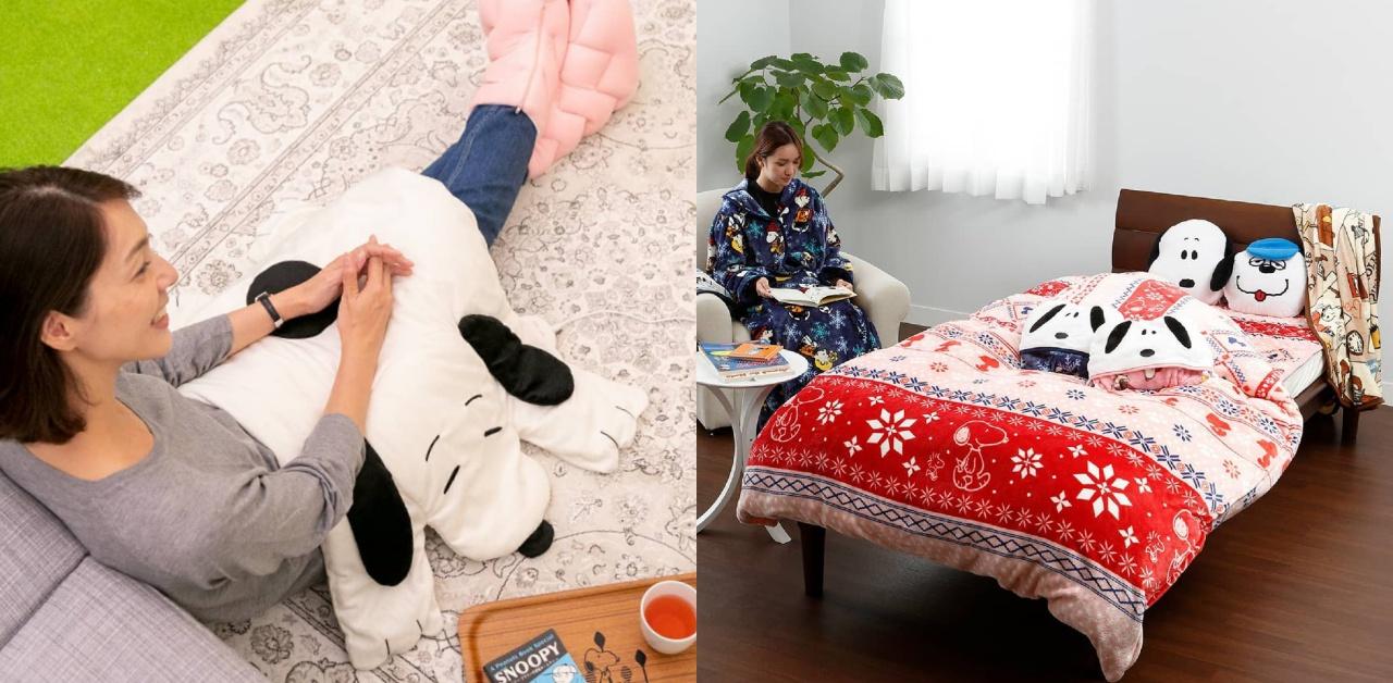把史努比的皮披在身上保暖?!SNOOPY毛毯陪你暖暖过冬