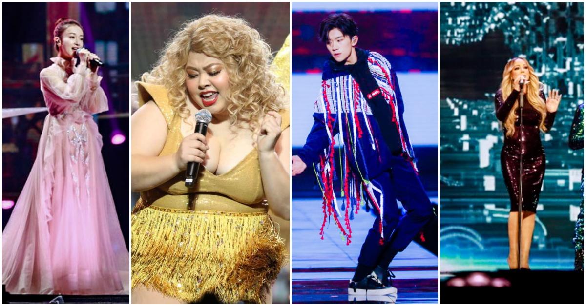 易烊千玺、玛丽亚凯莉等大咖巨星齐聚上海欢庆天猫狂欢节十週年!双11服饰类销售前十原来是这些?!