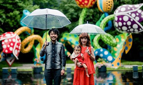 最可爱0包袱的一家三口出游啦!看茂木夫妻带路玩翻日本中部私房秘境