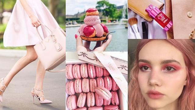 法国妞也疯pink pink!看巴黎女孩如何以粉色散发恋爱气息