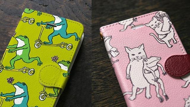 独一无二的印刷手机壳!日本插画风「河童堂」周边特辑