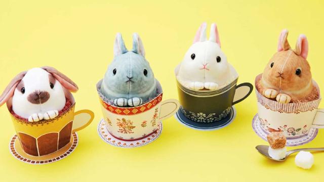 让兔兔陪你一起上班!兔子造型的疗癒系办公室小物