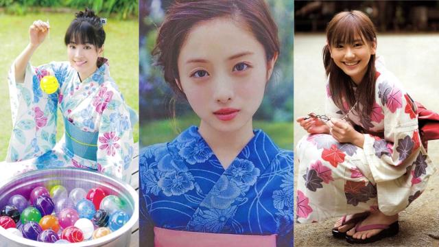 网友心中最适合穿浴衣的日本女星Top 10!名单一出就让人直呼根本all about「颜值」啊