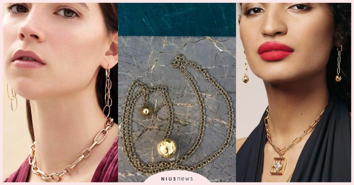 今年必备「锁鍊饰品」!可中性可优雅的风格不怕挑不到喜欢的款式!